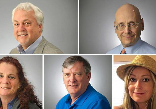 The people killed in the shooting Photos: Capital Gazette