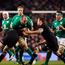 19 November 2016; Devin Toner of Ireland is tackled by Kieran Read of New Zealand during the Autumn International match between Ireland and New Zealand at the Aviva Stadium in Dublin. Photo by Ramsey Cardy/Sportsfile