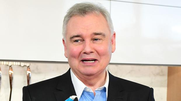 Eamonn Holmes grimaced as he was bitten (Ian West/PA)