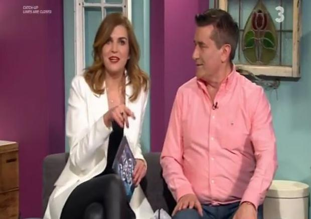 Muireann O'Connell and Martin King on The Six O'Clock Show on TV3