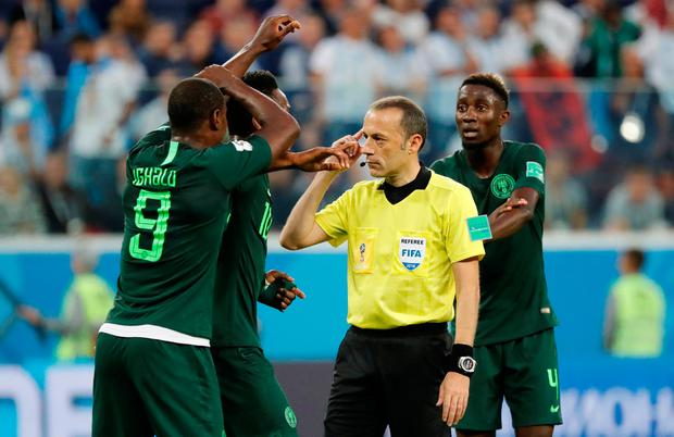 Federation Internationale de Football Association says VAR has improved World Cup decision making accuracy to 99.3%