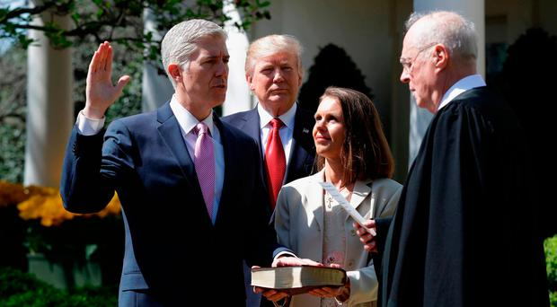 Supreme Court Judge Kennedy bows out just when US is badly in need of some of his 'dignity'