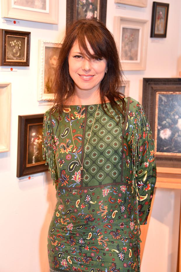 Imelda May attends a private view of