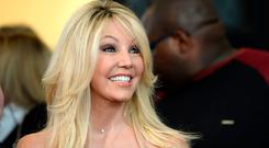 Actress Heather Locklear attends TLC