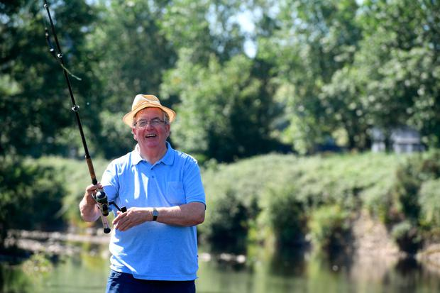 Ned today, enjoying the peace of a day's fishing. Photo: Domnick Walsh © Eye Focus LTD ©