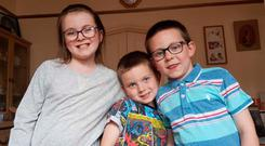 (L-R) Cara, Hagen and Michael Quinn have gone missing and may be in Ireland