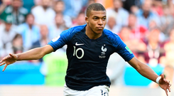 Kylian Mbappe terrorised Argentina, exposing their lack of brains, quality and speed. Photo: Getty Images