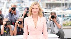 SUITS HER: Cate Blanchett at the Cannes Film Festival. Photo: WireImage