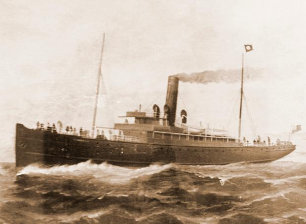 'SS Dundalk' was sunk by a German submarine