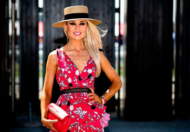 Regina Horan at the Dubai Duty Free Irish Derby at the Curragh Racecourse. Picture: INPHO/Morgan Treacy