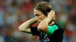 Luka Modric has been one of the players of the tournament