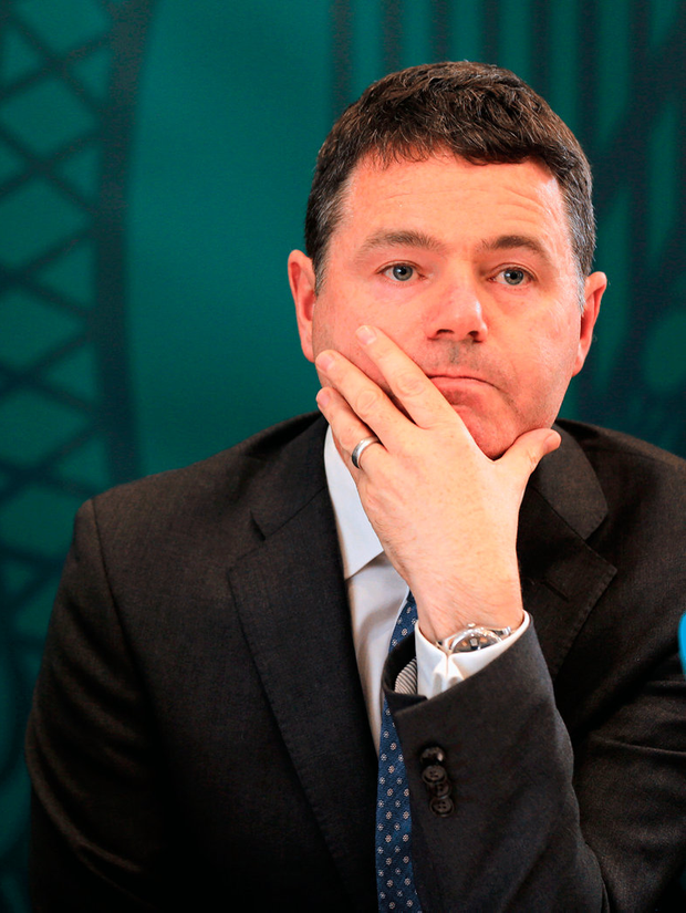 Minister Paschal Donohoe.