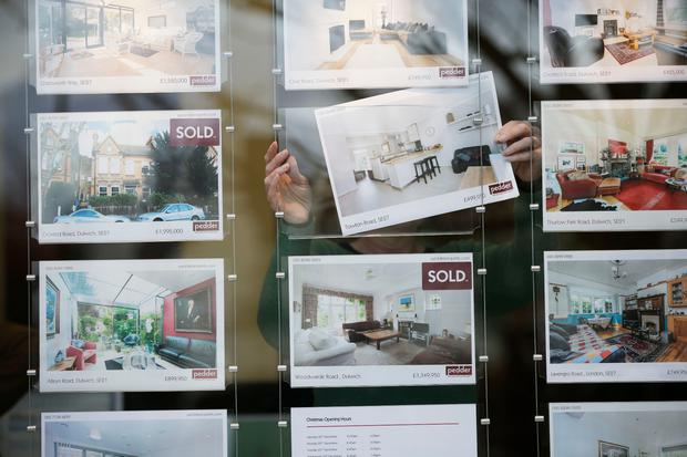 The median asking price for new sales nationally is €270,000 while in Dublin it's €384,000. Photo: Bloomberg via Getty Images