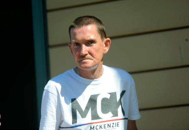 Darren Byrne had 'significant number' of convictions. Picture: Caroline Quinn