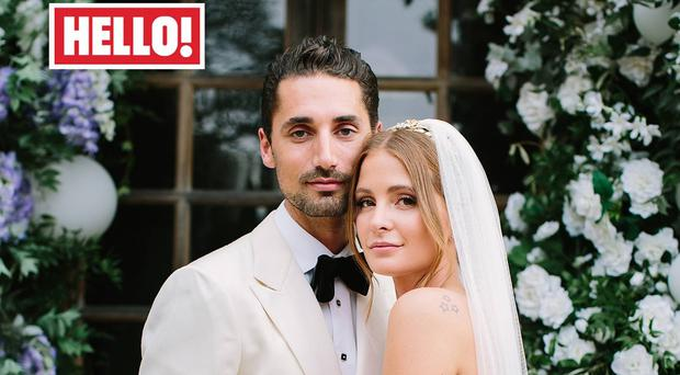 Millie Mackintosh and Hugo Taylor in this week's Hello! magazine.
