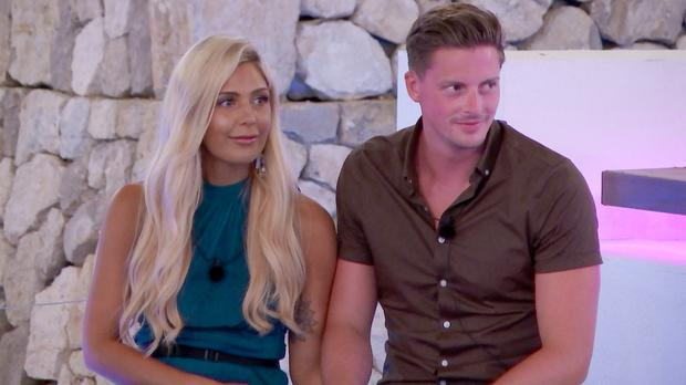 From ITV Studios Love Island: SR4: Ep29 on ITV2 Pictured: Grace and Alex.