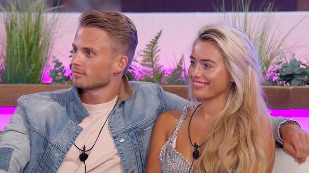 From ITV Studios Love Island: SR4: Ep29 on ITV2 Pictured: Charlie and Ellie. This image is strictly embargoed until 22.30 Monday 2nd . July 2018This photograph is (C) ITV Plc and can only be reproduced for editorial purposes directly in connection with the programme or event mentioned above, or ITV plc. Once made available by ITV plc Picture Desk, this photograph can be reproduced once only up until the transmission [TX] date and no reproduction fee will be charged. Any subsequent usage may incur a fee. This photograph must not be manipulated [excluding basic cropping] in a manner which alters the visual appearance of the person photographed deemed detrimental or inappropriate by ITV plc Picture Desk. This photograph must not be syndicated to any other company, publication or website, or permanently archived, without the express written permission of ITV Plc Picture Desk. Full Terms and conditions are available on the website www.itvpictures.co.uk For further information please contact: james.hilder@itv.com / 0207 157 3052