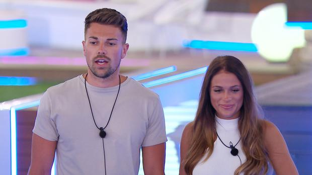 From ITV Studios Love Island: SR4: Ep29 on ITV2 Pictured: Sam and Ellie.