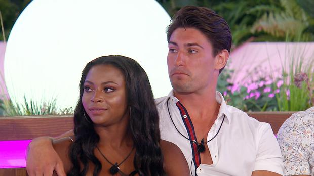 From ITV Studios Love Island: SR4: Ep29 on ITV2 Pictured: Samira and Frankie.