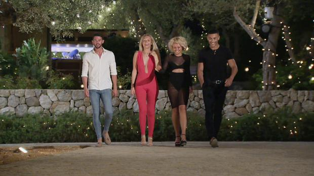 From ITV Studios, Love Island: SR4: Ep29 on ITV2 Pictured: Dean, Charlie, Savanna and Jordan are dumped form the Island.
