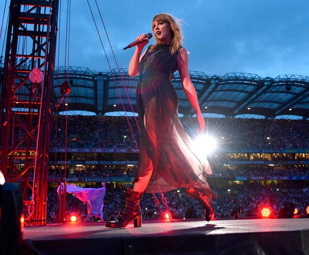 Taylor Swift's recent concert in Croke Park was a significant moneymaker for the GAA. Photo: Gareth Cattermole/TAS18/Getty Images