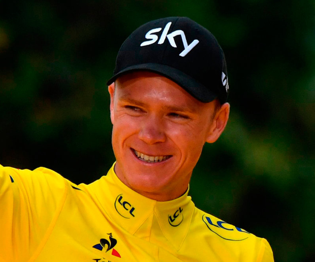 Froome was cleared of any wrongdoing when the world governing body the UCI dropped its disciplinary case against the British rider on advice from Wada. Photo:Getty Images