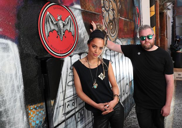 DJ CiCi and Nialler9 launch Casa Bacardi at Electric Picnic 2018