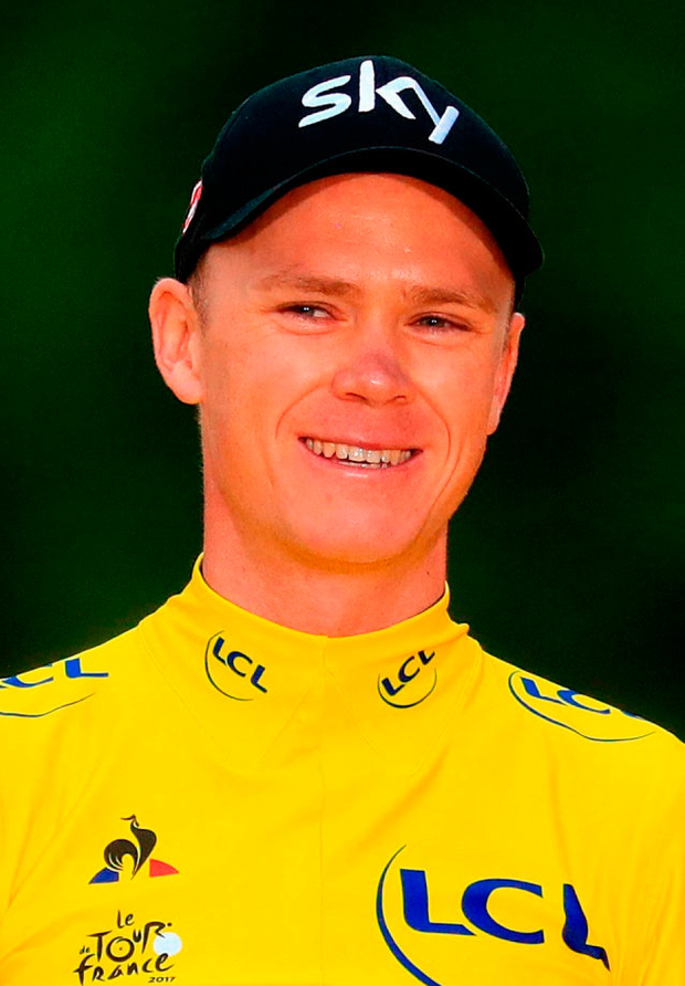 Chris Froome will be on Saturday's Tour de France start line in Vendée. Photo: Adam Davy/PA