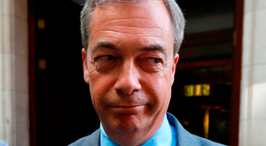 Despair: Nigel Farage. Photo: Reuters
