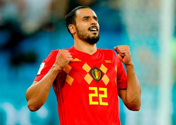 Belgium's Nacer Chadli. Photo: Odd Andersen/AFP/Getty