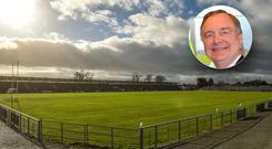 Martin Cullen (inset) has criticised Waterford GAA