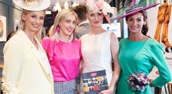 Heidi Higgins, Simona V and Lynda Duffy at the launch of the Galway Races Summer Festival at The Dean Hotel. Picture: Andrew Downes / Xposure