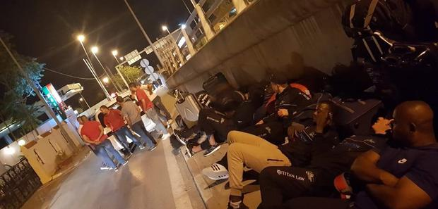 Zimbabwe's national rugby team slept on the streets outside their hotel in Tunisia on July 2, 2018 because of poor facilities and lack of funds.