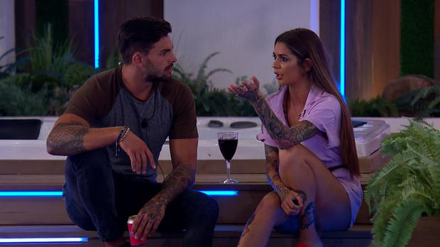 Adam and Darylle met at Casa Amor (ITV)