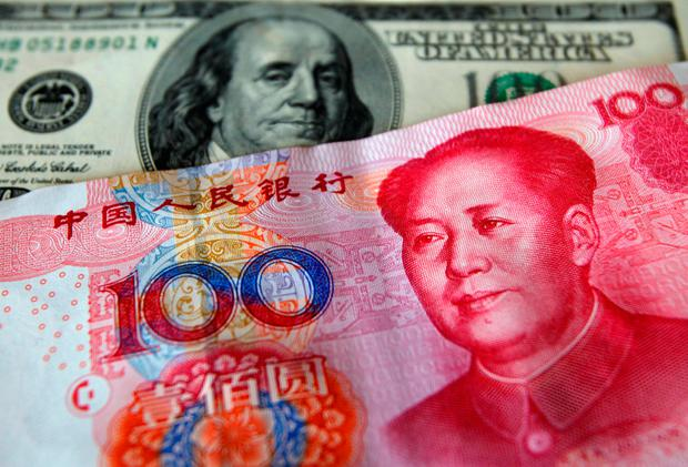 As for the yuan, there is some concern it is being pushed down for trade war purposes. Photo: REUTERS/File Photo