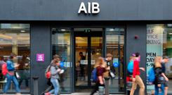 AIB's investment in companies brings it into potential competition with other State-backed ventures. Photo: Bloomberg