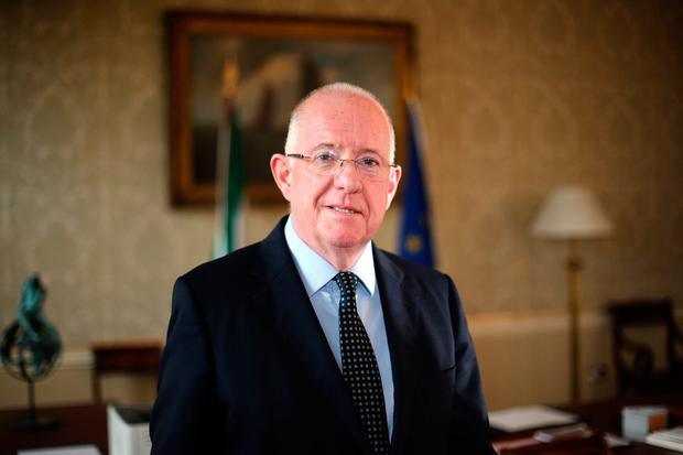Minister for Justice and Equality Charlie Flanagan Picture: Mark Condren