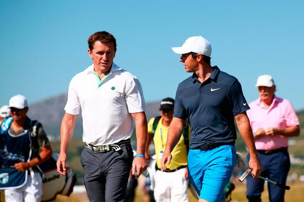 Fox leads McIlroy and co