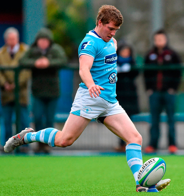 Neil Cronin in action for Garryowen in the AIL against Clontarf Picture credit: Matt Browne / Sportsfile