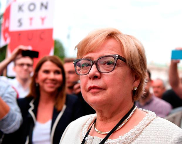 Polish Supreme Court Justice chief Malgorzata Gersdorf. Photo: AFP/Getty Images