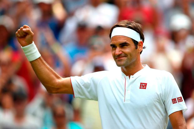Roger Federer. Photo: Clive Mason/Getty Images