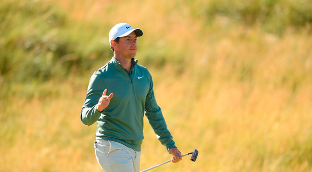 'It sort of just got into my head a little bit' - Rory McIlroy rues missed putts but cards solid round at Irish Open