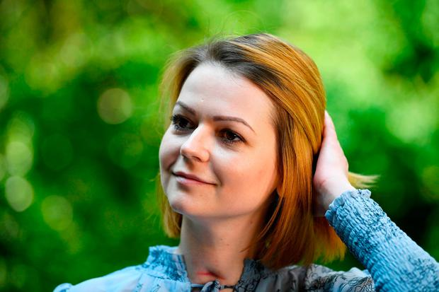 Yulia Skripal who, along with and her father Sergei Skripal, was poisoned by Novichok in Salisbury in March. Photo: Reuters.
