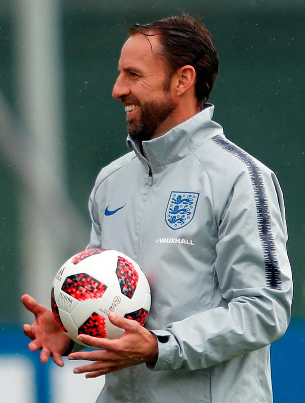 The FA appointed Southgate on a four-year deal in November 2016. Photo: Reuters
