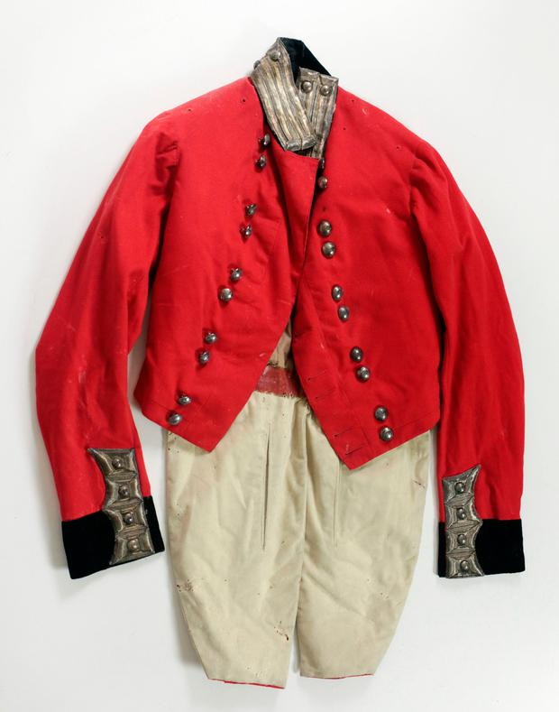 Nineteenth-century High Sheriff of Ireland (Co. Kildare) uniform