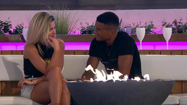 Love Island viewers fuming as Wes saves Megan from being dumped (ITV)
