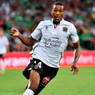 Nice's French forward Alassane Plea
