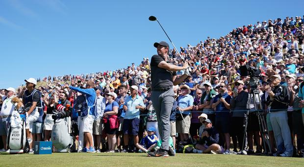 'It tested my patience' - Rory McIlroy reveals his frustration as he slips behind at the Irish Open