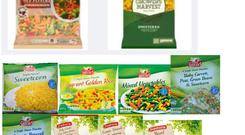 Some of the frozen vegetables being recalled Photo: Food Safety Authority of Ireland