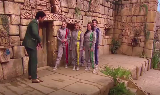 The Derry Girls on the Crystal Maze last night